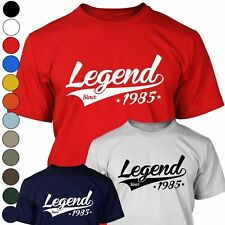 LEGEND SINCE 1985 Mens T Shirt - 30th Birthday Year Of Birth Gift For Men