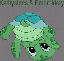 Baby Sea Turtle - Machine Embroidery Designs Set of 10 On CD