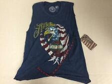 """AFFLICTION """"EAGLE EYE"""" WOMENS AUTHENTIC SLEEVELESS TANK TOP BRAND NEW NWT"""