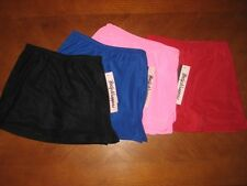 NEW WITH TAGS BODY WRAPPERS GIRL'S SIDE SLIT DANCERS OR SKATERS SKORT