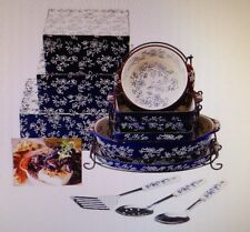 Temp-tations Floral Lace 12pc Limitless Lid-it Set w/ Gift Boxes   K39853