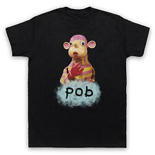INSPIRED BY POB KIDS TV SHOW RETRO COOL SPIT PUPPET UNOFFICAL MENS WOMEN T-SHIRT