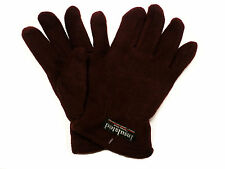 Womens Ladies Warm Winter Fleece Gloves Lined With Thermal Insulation Pink Blue