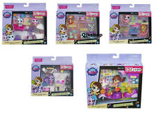 Littlest Pet Shop Glamour Pack, Ice Cream Cafe, Terraza, Pet Partido, Blythe