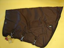 WATERPROOF Turnout Horse NECK COVER 600D BROWN BY Tough 1 Sz-large