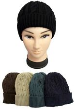 1Pc or Wholesale Lot 6Pcs - Knitted Adult Winter Caps - Beanies   (# EZWCA-19)