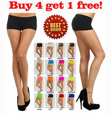Women Sexy Panties Boy Shorts Mini Briefs Spandex Underwear Lot New Free Size
