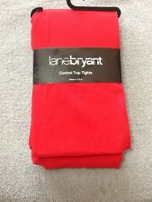 Lane Bryant Nylon/Spandex Control Top Tights RED ORANGE BROWN BLUE PINK PURPLE