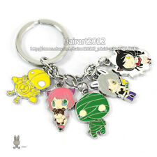 LOL Ahri Riven Annie Amumu Blitzcrank Mobile Pendant Keychains League of Legends