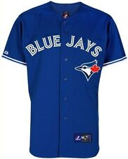 Toronto Blue Jays Majestic Men's Blue Replica Baseball Jersey Big And Tall Sizes