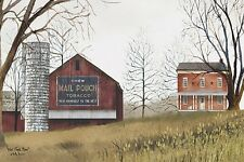 ART PRINT, FRAMED OR PLAQUE - BY BILLY JACOBS - MAIL POUCH BARN - BJ118C