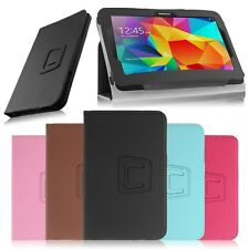 "Universal 7"" inch Leather Protective folio Stand Case Cover fr Android Tablet PC"