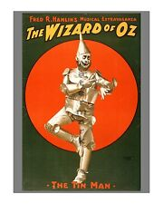 Wizard of Oz Musical - Tin Man - Reproduction Theatre Advertisement/Poster