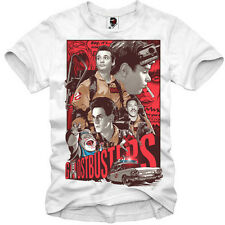 E1SYNDICATE T SHIRT GHOSTBUSTERS 80s BILL MURRAY BLOGGER DVD BLUE RAY SLIMER