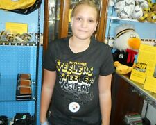Pittsburgh Steelers Girls Burn Out Tee