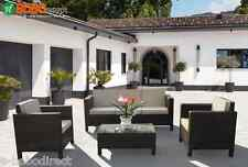 Luxury Rattan Garden Furniture Sofa Set Patio Conservatory Wicker Outdoor Chairs
