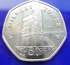 """Isle of Man """"Milner Tower"""" 50p - date of your choice"""