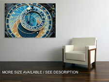 Canvas Print Picture Prague Old Clock  / Gallery wrapped ready to hang