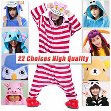 Unisex Adult Pajamas Kigurumi Cosplay Costume Animal Onesie Sleepwear Suit Hot !