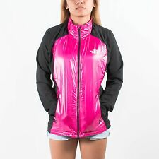 THE NORTH FACE WOMENS ANAMAGI JACKET RAZZLE PINK TNF BLACK SIZE MEDIUM T141
