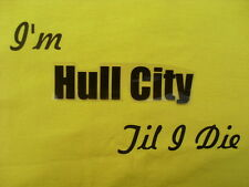 Football Hull City T-Shirts & Sweat Shirts Inc 4XL & 5XL Personalised Gift