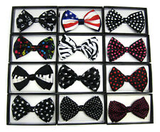 Music and Polka Dot Men's Tuxedo Bow Tie