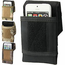 Army Camouflage Disruputive Pattern Cordura Material Belt Pouch Velcro Closure