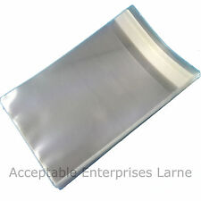 Clear Cello Bags Self-Seal Plastic Envelopes, Display Cards Photos Sweets Party