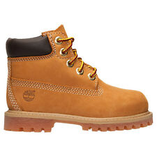 Timberland Toddler's Boot 6 Inch Premium Wheat 12809 waterproof