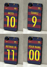 BARCELONA FC FOOTBALL MESSI SUAREZ NEYMAR PHONE CASE COVER FOR IPHONE & SAMSUNG