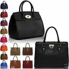 Ladies Handbags Women Designer Bags Fashion Tote Shoulder Celebrity Faux Leather