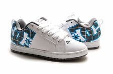 DC Men's Shoes Skateboard shoes Court Graffik SE 300927 WQX White Turquoise