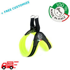 DOG HARNESS FOR SMALL DOGS REFLECTOR 100% Made In Italy TRE PONTI (fleece)