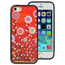 NEW Colourful Flowers pattern Case for Apple iPhone 4S 4 5 5S 5C Printed Cover