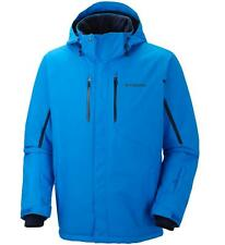Columbia Mens Cubist IV Jacket sz Medium Warm Omni-Heat Waterproof Ski Coat