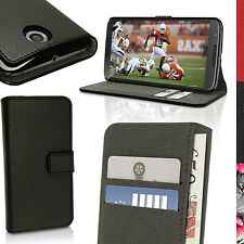 PU Leather Skin Wallet Case for Motorola Google Nexus 6 XT1100 Flip Stand Cover