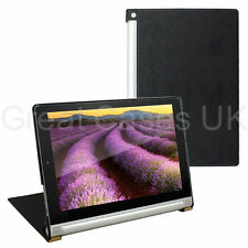 PREMIUM THIN PU LEATHER CASE COVER WITH STAND FOR LENOVO YOGA TABLET - UK POST