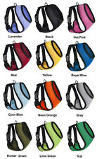 Padded Mesh Pet Dog Cat Harness Soft Control Safety Strap Breathable 12 colors