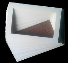 PICTURE / PHOTOGRAPH MOUNTS IVORY WHITE ALLSIZES,AND QUANTITY QUALITY MOUNTBOARD