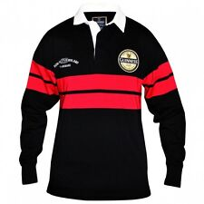 Guinness Rugby Shirt - Black & Red - G2005