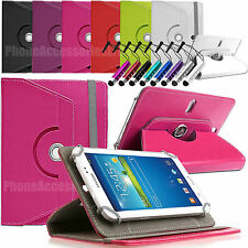 "360 rotazione Custodia in pelle Folio Cover per Asus Tablet Android 7 "" 8"" 9 "" 10.1"" """