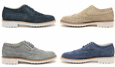 scarpe uomo francesine derby oxford sneakers camoscio vera pelle MADE IN ITALY