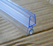 Fill 8mm GAP for 4,5,6mm Glass BATH DOOR SHOWER SCREEN SEAL STRAIGHT or CURVED