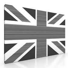 "Large British Union Jack Flag Canvas Picture Print artwork. 20""x30"" New Wall Art"