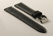 Bison-Echt-Leder-Uhrenarmband-18-20-20XL22XL-WatchStrap-BisonSkin-GenuineLeather