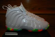 Nike Lil Posite One Fruity Pebbles Foamposite 644791-100 TD/PS/GS NEW Sz:1c - 7y