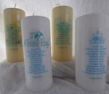 Personalised New Baby Candle Boy Girl A Bundle Of Joy (med)
