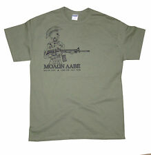 Support the 2nd Amendment! Armed Citizen  Molon Labe Warrior Tee Military Green