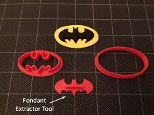 Batman  Cookie Cutter / Fondant Cutter / Cupcake Topper