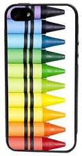 CellPowerCasesTM Crayons Black Case for iPhone 5/5S